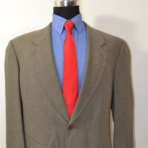 Mani 42L Sport Coat Blazer Suit Jacket
